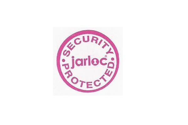 Jarloc Security Protected Sticker